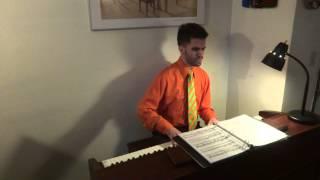 "John sings/plays ""A Kaleidoscope of Mathematics"" (from ""A Beautiful Mind"")"