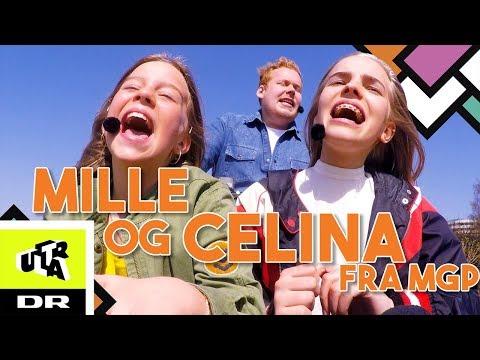 MILLE OG CELINA FRA MGP | Cykel Karaoke | Ultra