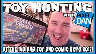 Toy Hunting with Pixel Dan at Indiana Toy and Comic Expo 2017