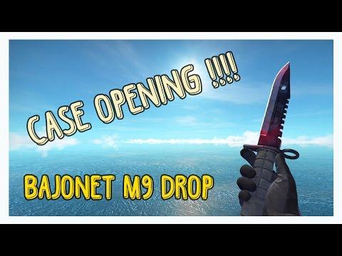 BAJONET M9 | ( STATTRAK ) | FADE | FACTORY NEW CASE DROP