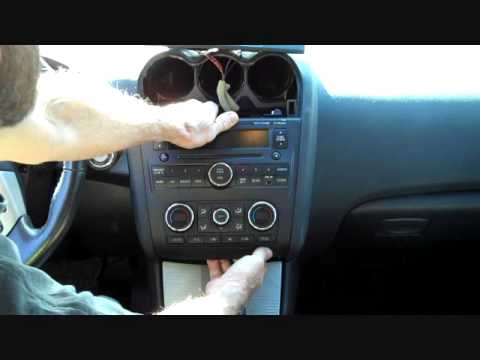 How To Bose Nissan Altima 2007 2017 Car Stereo Radio Removal Aux Jack Replace