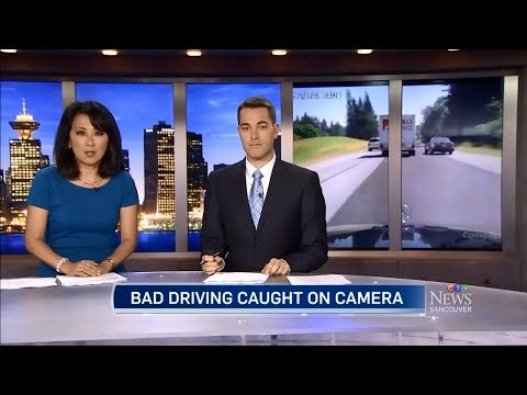 CTV Vancouver: Bad Drivers Caught on Camera