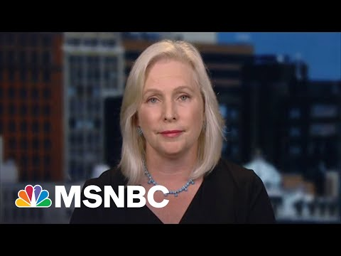 Gillibrand On Biden's Handling Of The Withdrawal From Afghanistan