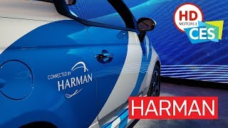 HARMAN: il SUONO e il SILENZIO in auto, le novità dal CES 2019