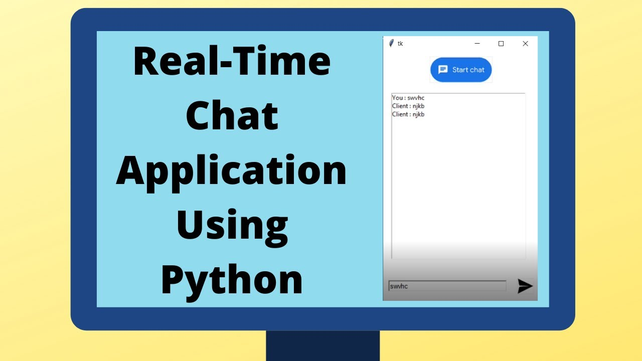 Realtime Chat Application using Python