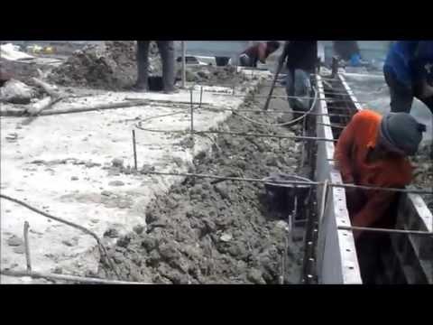 คลิป ขั้นตอนและวิธีทำ งานทำรางระบายน้ำ งานรางgutter รางv