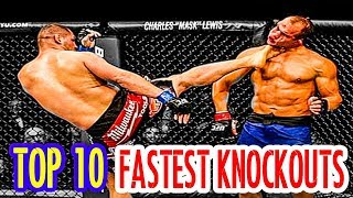 🔥 TOP 10 Fastest Knockouts in UFC History 🔥