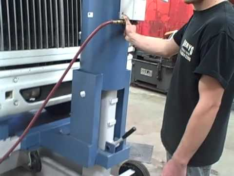Otc 1590 Bumper Lift Youtube