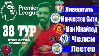 АПЛ Заключительный 38 тур Английская премьер лига 2019 2020 Обзор Итогов 38 го тура АПЛ 2019 2020