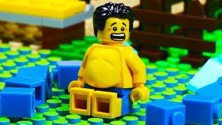 Lego Gym Beach Body Building - Fat Lego