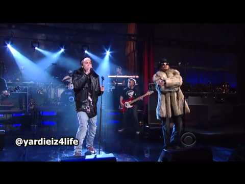 Yelawolf - Let's Roll ft. Kid Rock live on Letterman