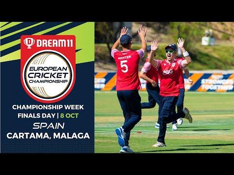 🔴 Dream11 European Cricket Championship | Finals Day Cartama Oval Spain | T10 Live Cricket