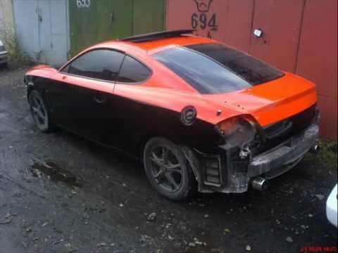 Auto Paint Hyundai Tiburon Coupe Youtube