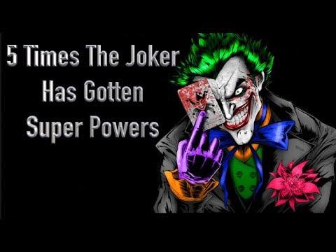 5 Times The Joker Has Gotten Super Powers