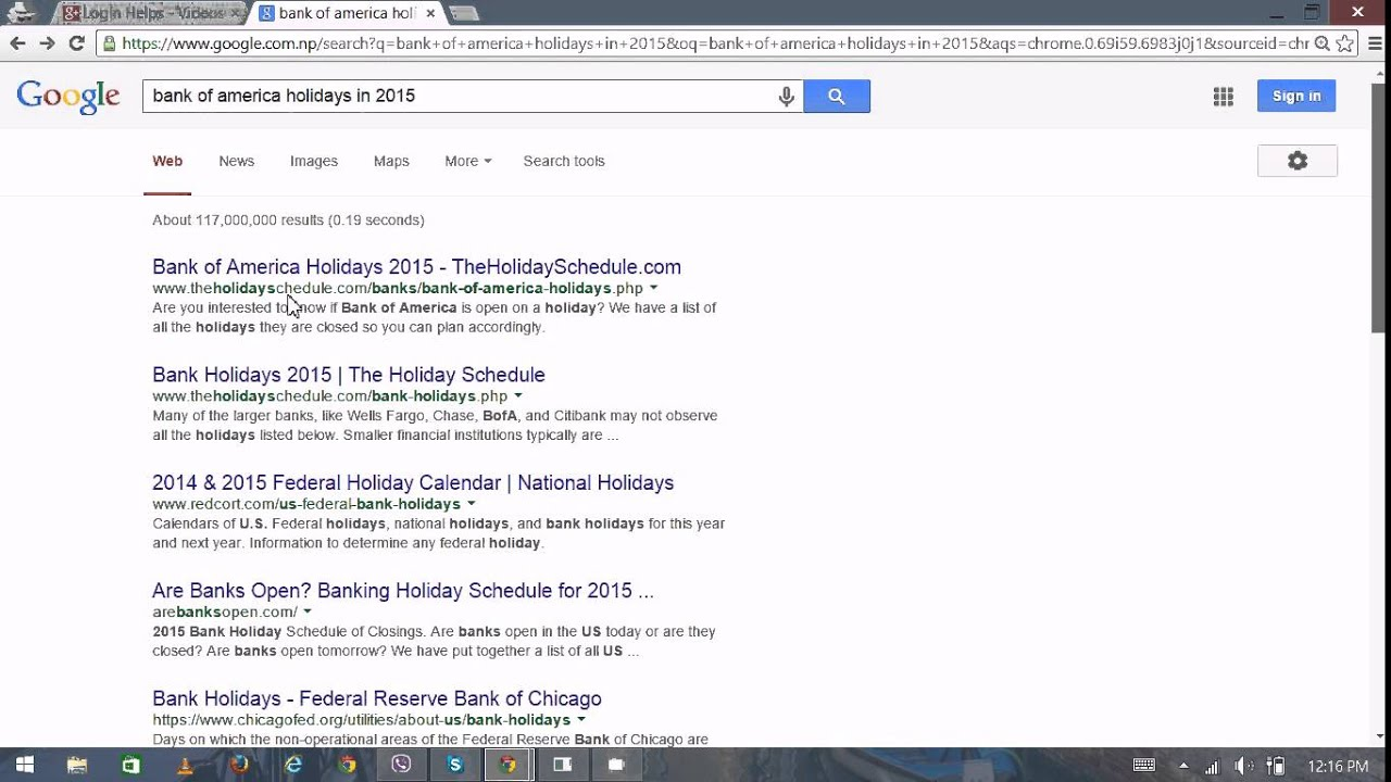 bank of america online banking bank of america holidays 2015 - Bank Of America Christmas Eve Hours