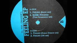Dr. Phil Omanski - Feeling - BZRK Records - 1995