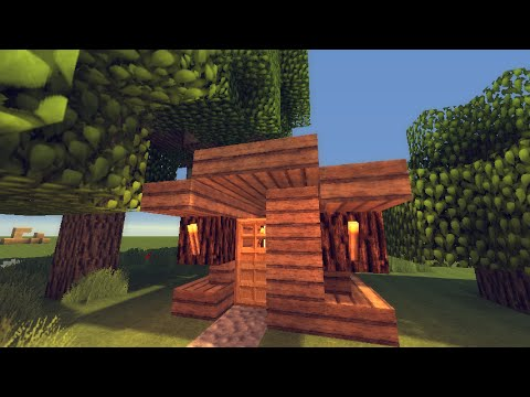 Minecraft Small Forest House HD YouTube
