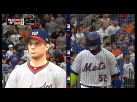 MLB The Show 17 | Nationals vs. Mets | Citi Field