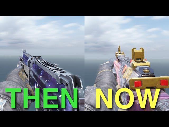 Evolution of CODM BEST Guns!
