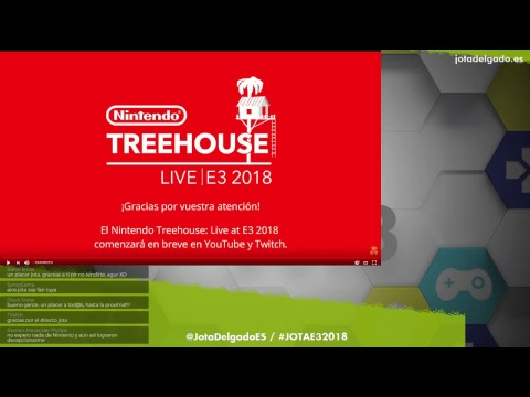 Conferencia NINTENDO - Directo E32018 - #E3Jota2018