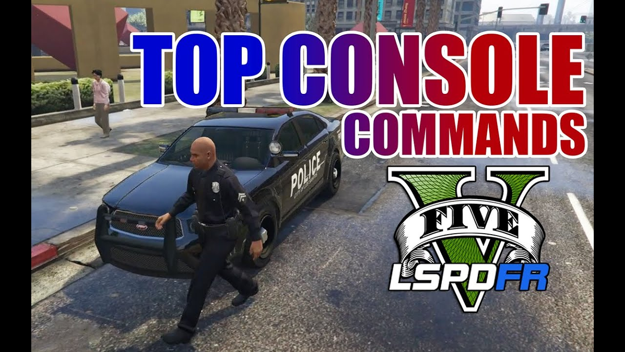 LSPDFR - GTA 5 - Top Console Commands!!