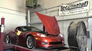 Corvette Z06, Heads, Cam, Intake, Exhaust, on the Dyno