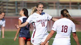 HIGHLIGHTS: Santa Clara Women's Soccer Defeats Saint Mary's | March 6, 2021