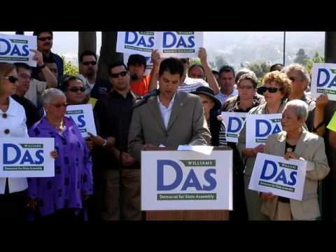 Das Williams for State Assembly District 35 - Campaign Kickoff