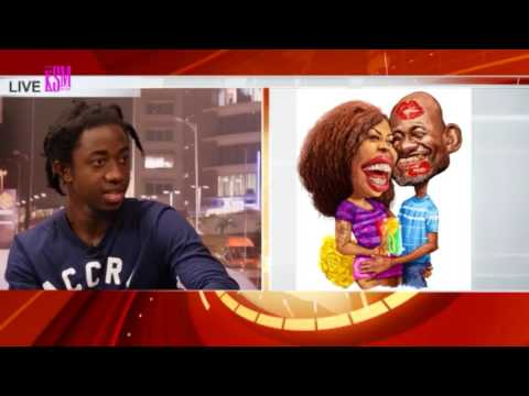 KSM SHOW- Bright Ackwerh, the creator of abonsam Cartoons, hanging out with KSM