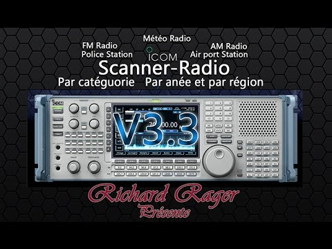 Scanner Radio V3.3 (digital radio receiver PC) Free