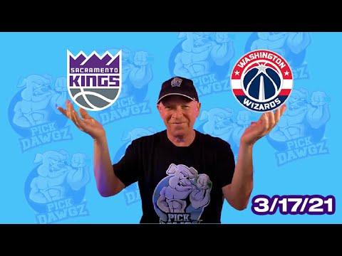 Washington Wizards vs Sacramento Kings 3/17/21 Free NBA Pick and Prediction NBA Betting Tips