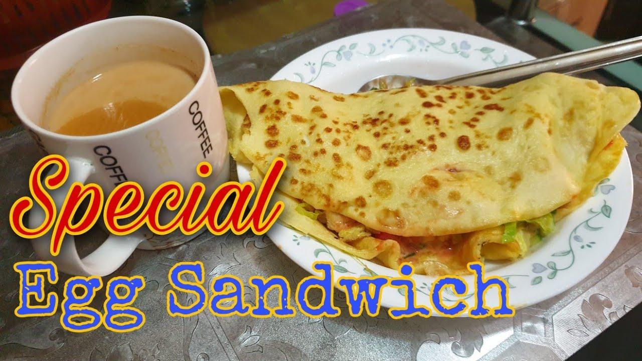 Special Egg Sandwich