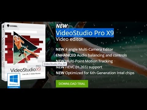 How to ACTIVATE Corel VideoStudio X9.5 | Install & Register | Pro & Ultimate | FULL | UPDATED-2016 |