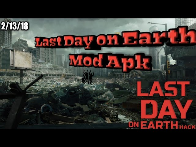 Last Day on Earth | Mod APK | free craft, all unlocked, ect.(v1.7.6) #1