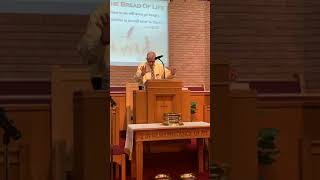Gluttony: Food Without Friends - 10/25/20 Sunday Morning Sermon - Porter Riner