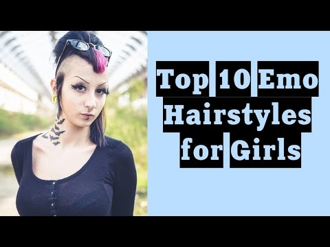 Top 10 Emo Hairstyles for Girls  | TATTOO WORLD