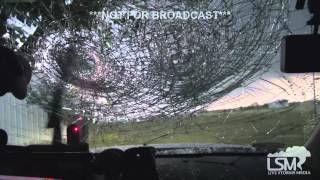 4-26-15 SE Stephenville, TX Mega Hail *Spencer Basoco - Lawrence McEwen*