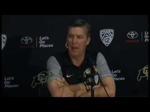 Mike MacIntyre Media Day Press Conference 2016