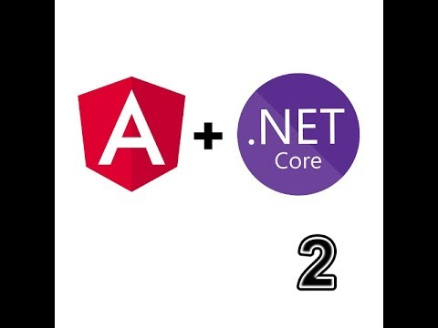 Angular 8 with ASP.Net Core Tutorial part 2 Web API thumbnail