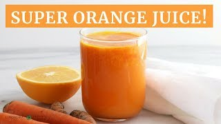 Valencia Orange Super Juice | Quick Healthy Breakfast | Limoneira