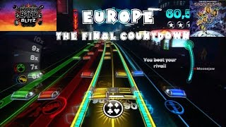 Europe - The Final Countdown - Rock Band Blitz Playthrough (5 Gold Stars)