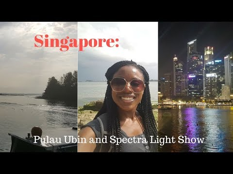 Singapore Times: Pulau Ubin and Spectra Light Show