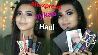 Affordable Makeup Products Haul || Aliexpress,nykaa & Esplaned in Kolkata || Makeup Forever