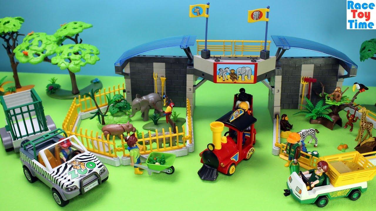 Safari Toys For Boys : Playmobil safari animals zoo playset build and play fun toys for