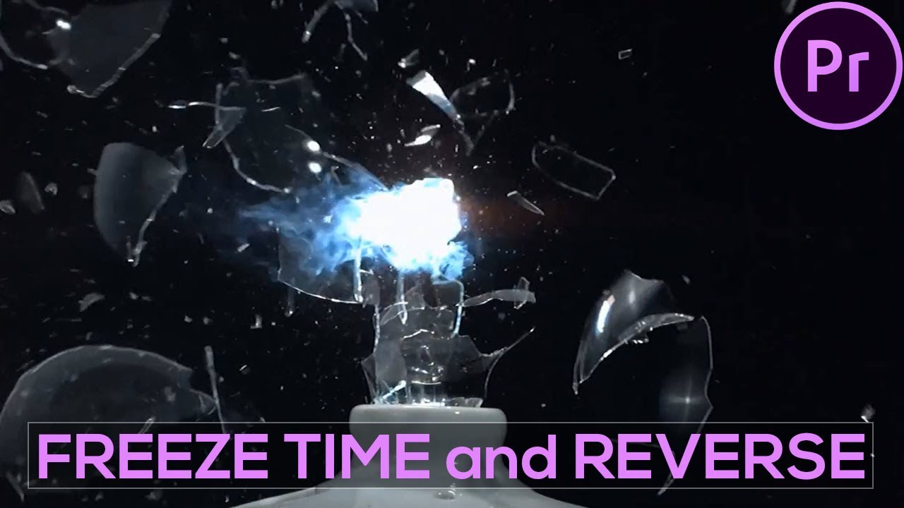 FREEZE TIME and REVERSE or REWIND In Adobe Premiere Pro