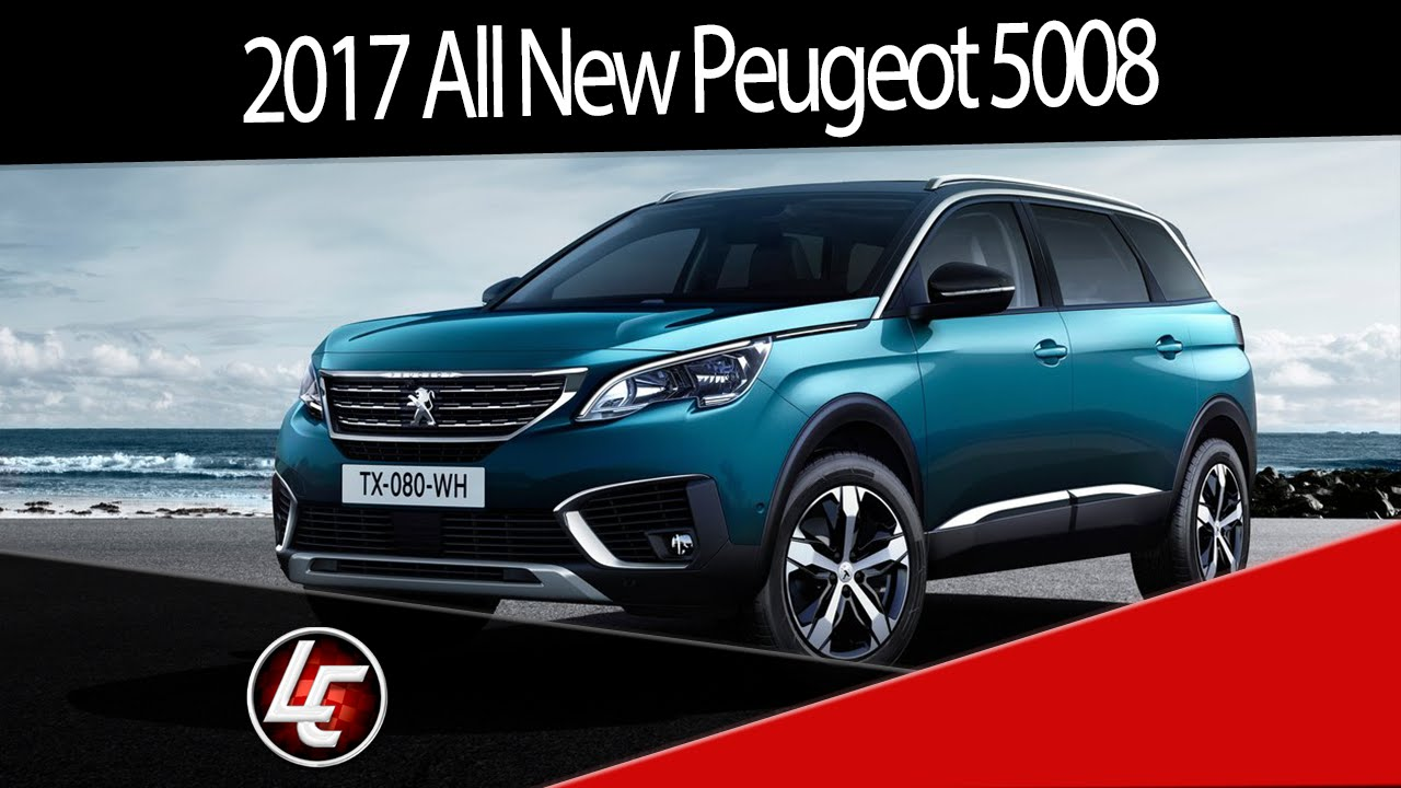 2017 all new peugeot 5008 suv interior exterior for Interior 5008 suv