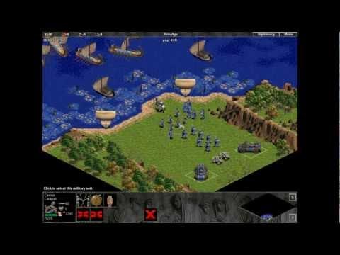 Ave Caesar. Mission 2. Britain. Age Of Empires. Hardest