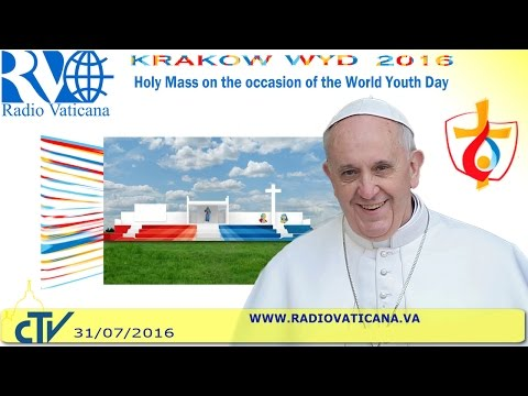 Pope Francis in Poland: Holy Mass