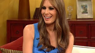 Melania Trump On The Rachael Ray Show