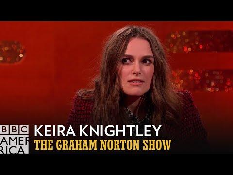 Keira Knightleys Tremendous Toothy Talent  The Graham Norton Show  BBC America